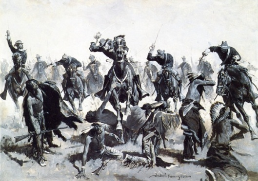 A Sabre Charge - Custer's Last Stand