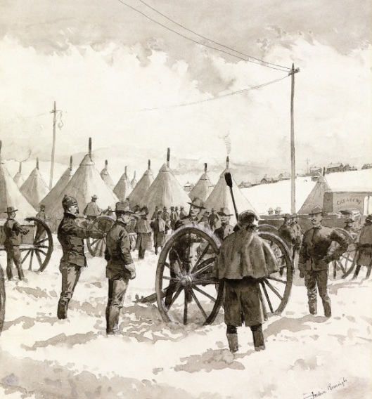 Leadville's Determined Strike - The Denver City Battery At Camp McIntire