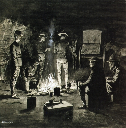 Supper In The Corral - Camp-Fire Texas