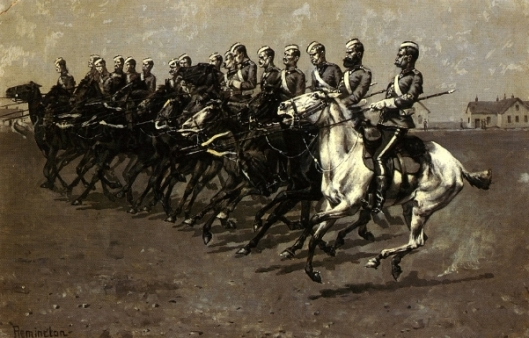 The Canadian Mounted Police On A Musical Ride - Charge