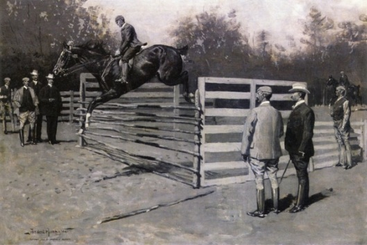 Transport, The First Horse In America To Jump Six Feet