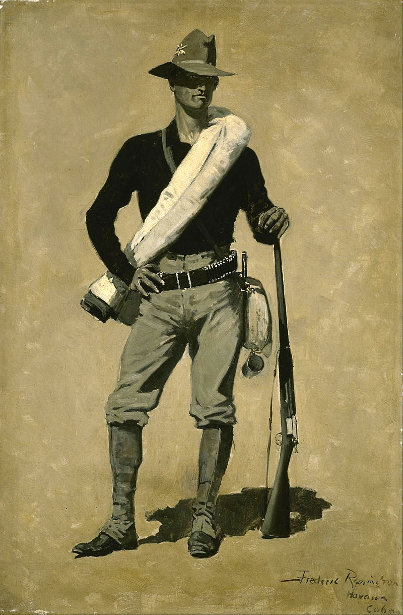 U. S. Soldier, Spanish-American War