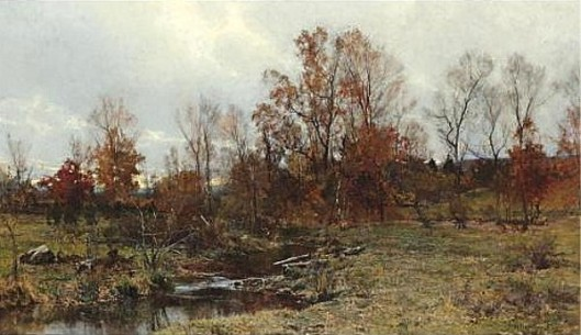 Brook In Autumn