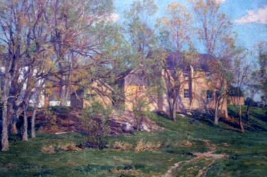 Landscape With Sawmill