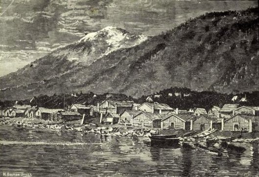 The Indian Village At Sitka