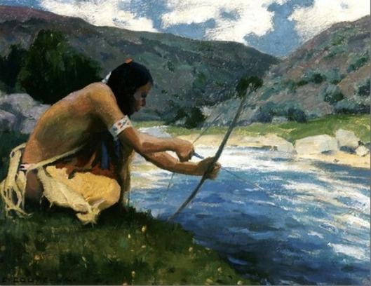Bow Fishing Along The Rio Grande