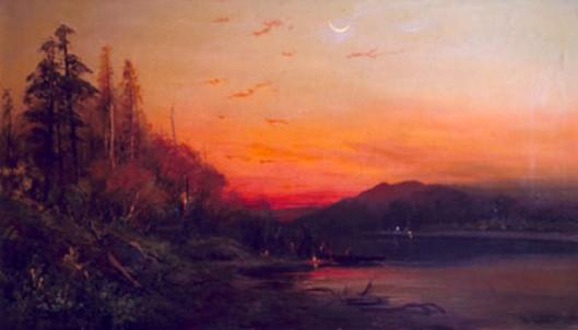 Evening On Goose Lake