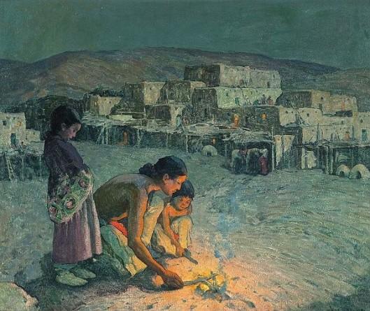 Moonlight, Pueblo Of Taos
