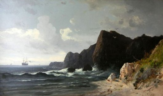 North Heads On The Pacific Coast, California