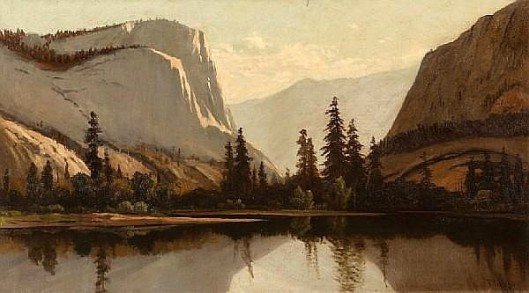 Yosemite From The Merced