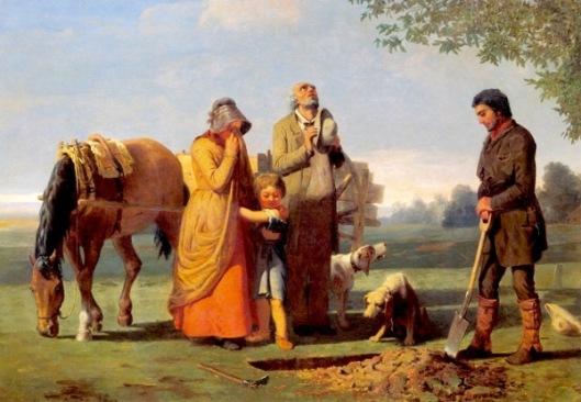 Prairie Burial