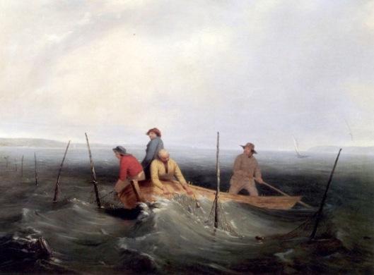 Shad Fishing On The Hudson