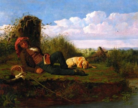 The Lazy Fisherman