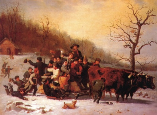 The Sleigh Ride - Boys Let Out Of School