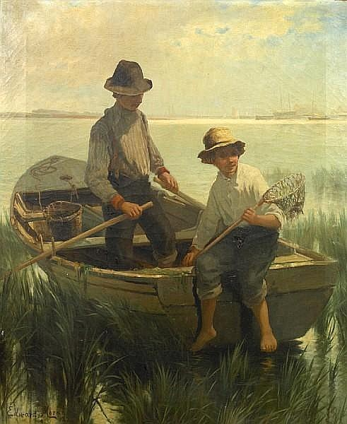 Boys Out Fishing