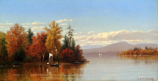 Fall On A Lake In New England