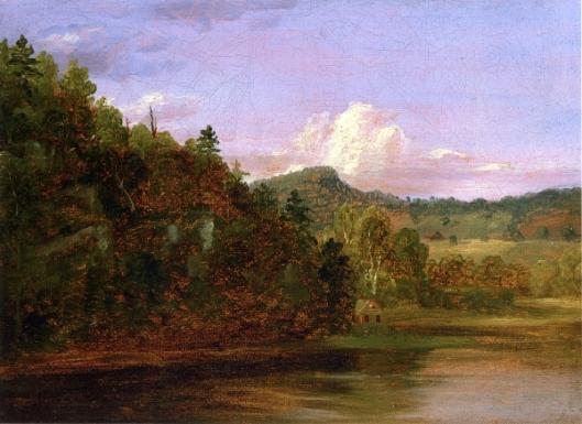 Landscape - American Lake In Summer
