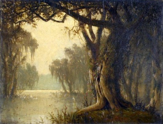 Louisiana Bayou Landscape
