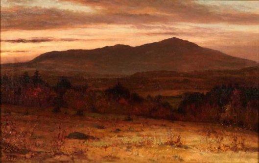 Mount Monadnock From Dublin, NH