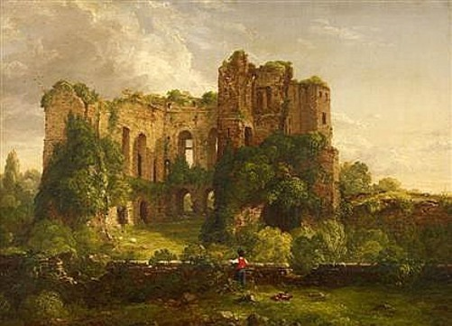Part Of The Ruins Of Kenilworth Castle