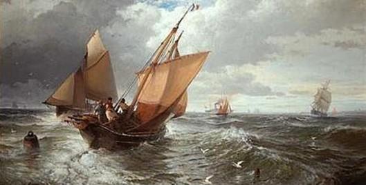 Shipping Off Calais Pier