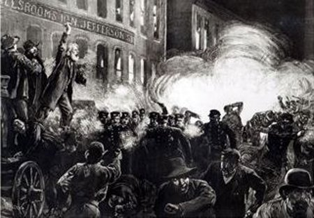 The Anarchist Riot In Chicago