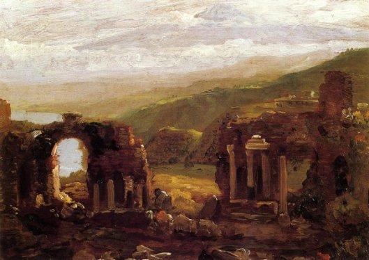 The Ruins Of Taormina