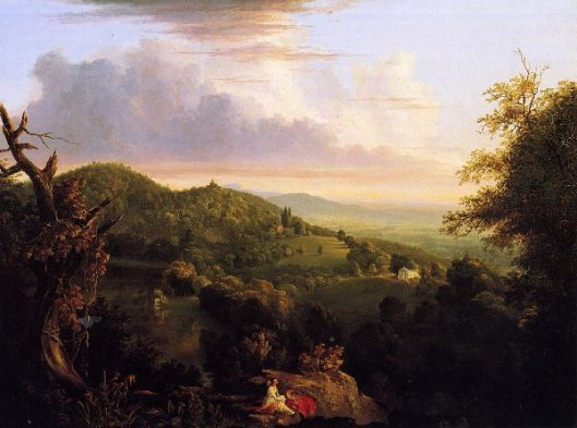 View Of Monte Video, Seat Of Daniel Wadsworth, Esq.