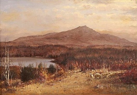 View Of Mount Monadnock, New Hampshire