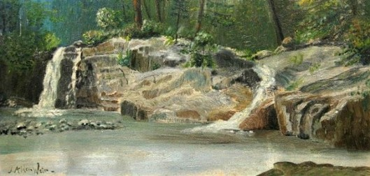 Buttermilk Falls, Ludlow, VT