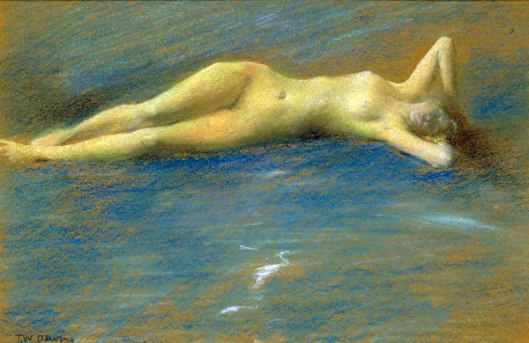 Reclining Nude Figure Of A Girl