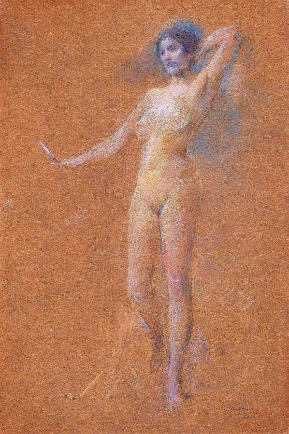 Standing Nude Figure Of A Girl