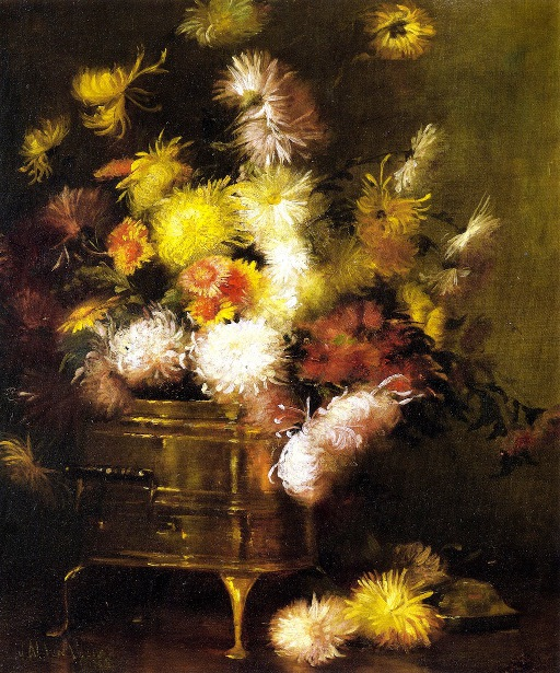 Still Life With Brass Pot