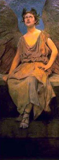 Winged Allegorical Figure