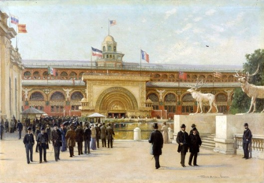 Golden Doorway Of The Transportation Building - World's Columbian Exposition, 1893