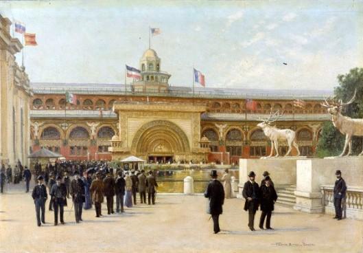 Golden Doorway Of The Transportation Building - World's Columbian Exposition, 1893