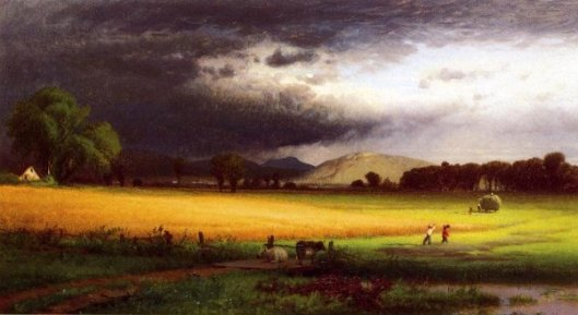 Harvest Scene - Valley Of The Delaware