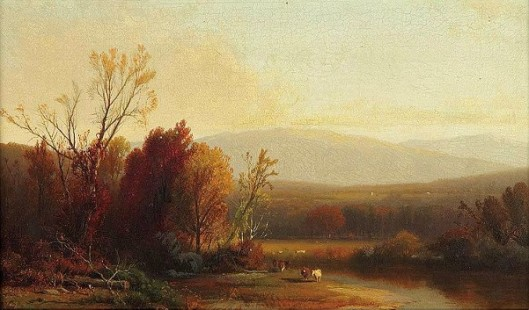 River Landscape, New England