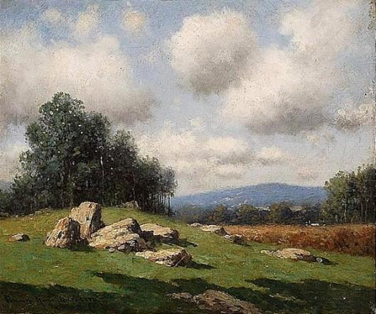 Summer Shadows - Expansive Mountain Landscape