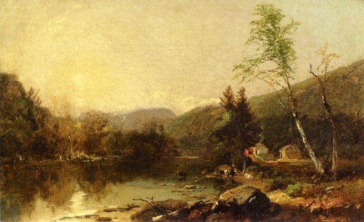 View Of The Valley Of The White Mountains, New Hampshire (Study)