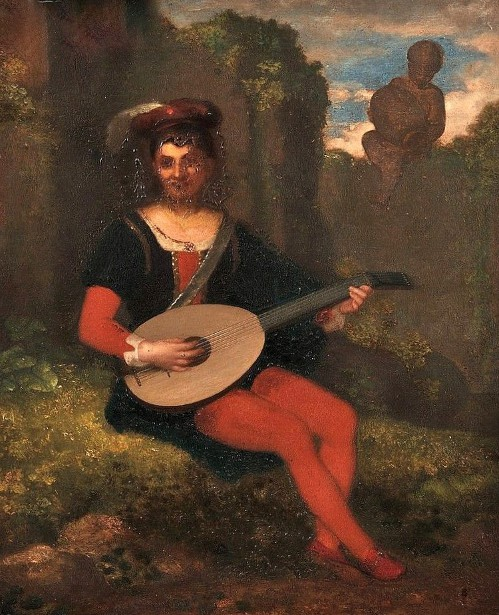 A Young Troubadour