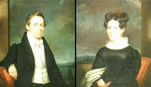 Samuel Brown and Maria Crosby Brown