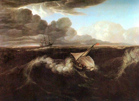 Storm Rising At Sea