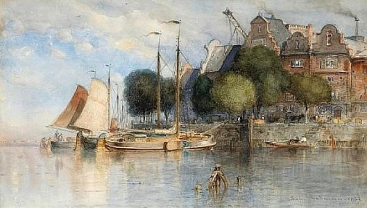 Boats Along The Quay