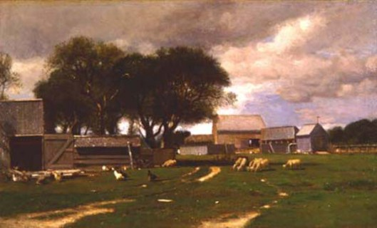 Farmyard, East Hampton