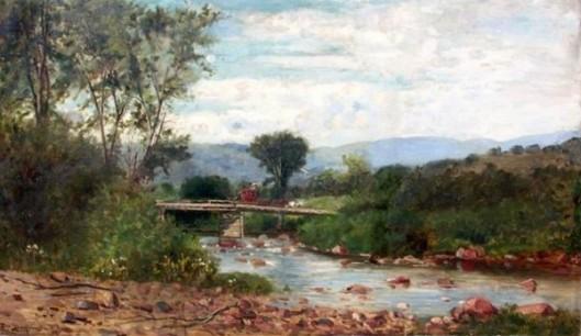 Bridge At Jackson, New Hampshire
