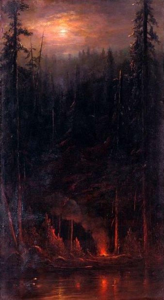 Campfire Scene