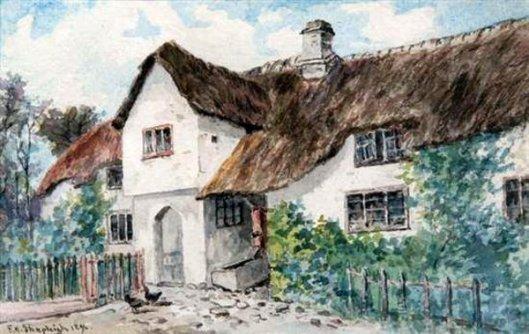 Cottage At Lustleigh, Devonshire