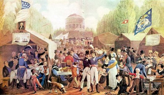 Fourth Of July Celebration In Centre Square, Philadelphia