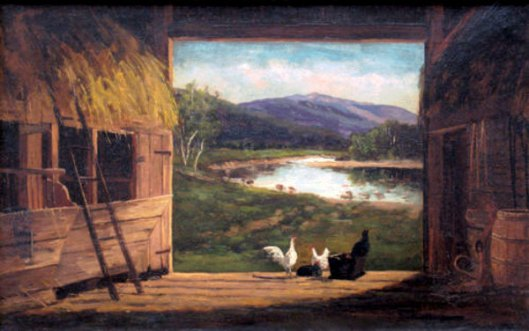 Old Barn In Bartlett, New Hampshire